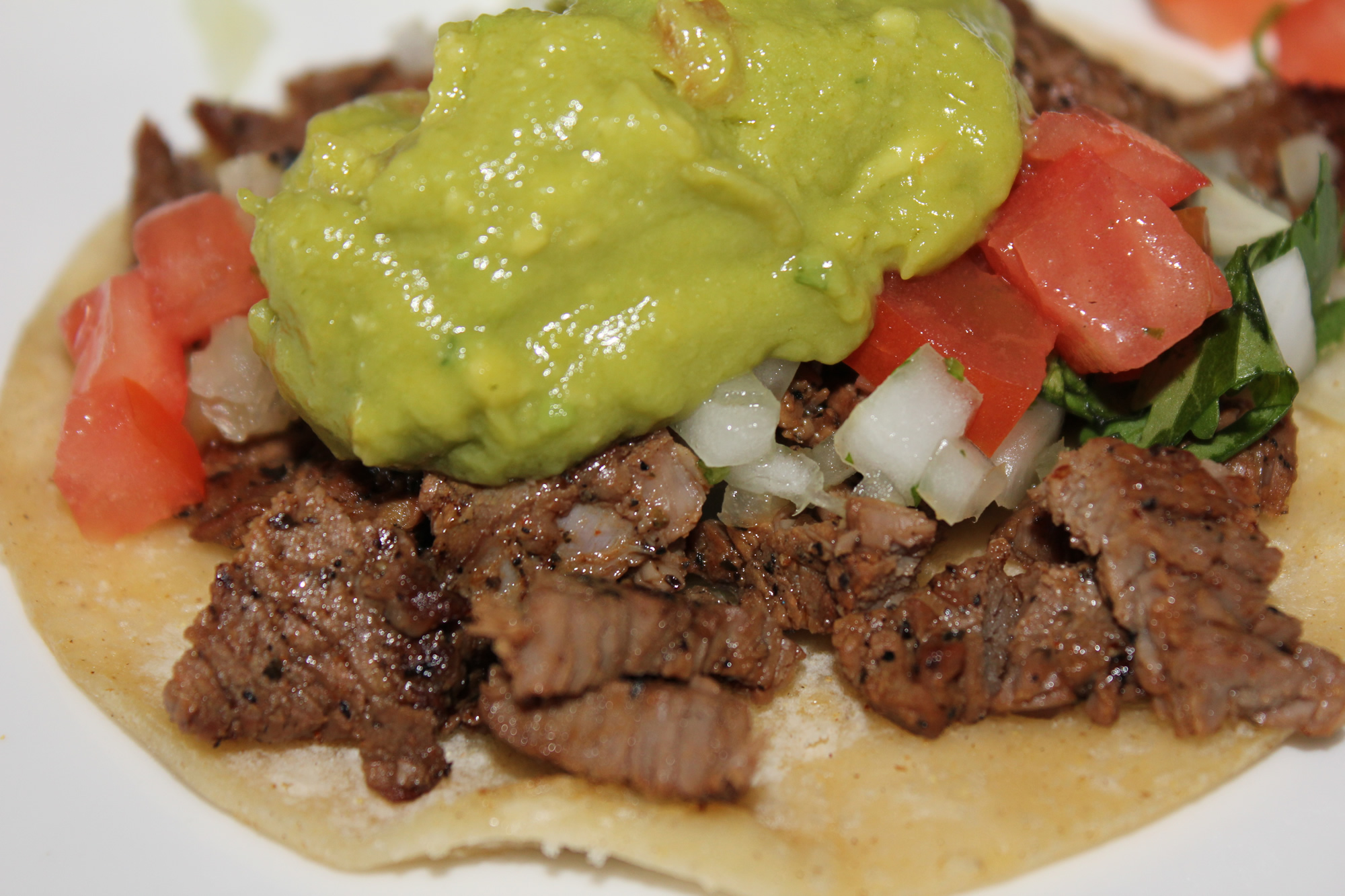 Carne Asada Tacos With Guacamole Authentic carne asada — recipes ...