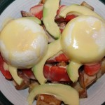 Smoked Salmon, Avocado Eggs Benedict