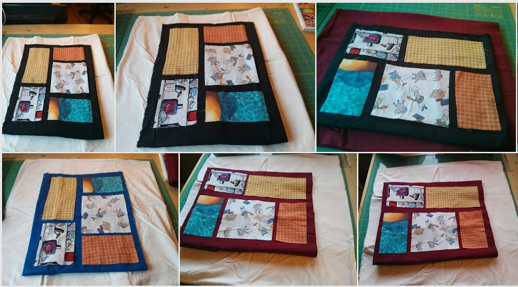 Boxer Quilt - picking out the borders